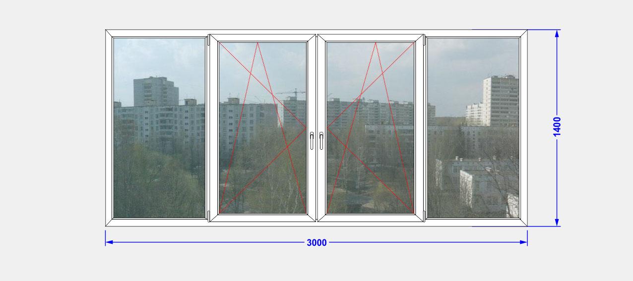 Лоджия с окнами слайдорс. - окна из пластика - каталог стате.